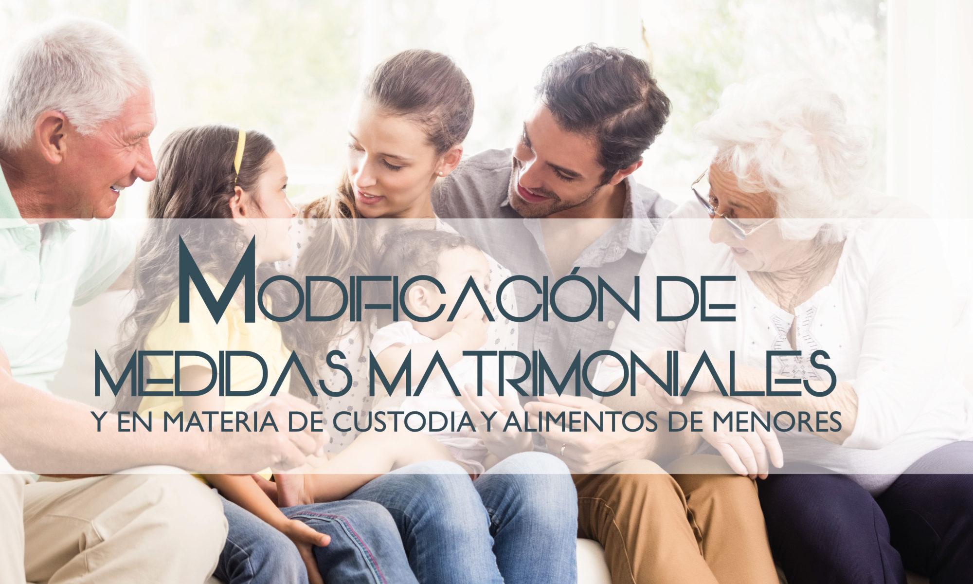 modificación medidas matrimoniales blog
