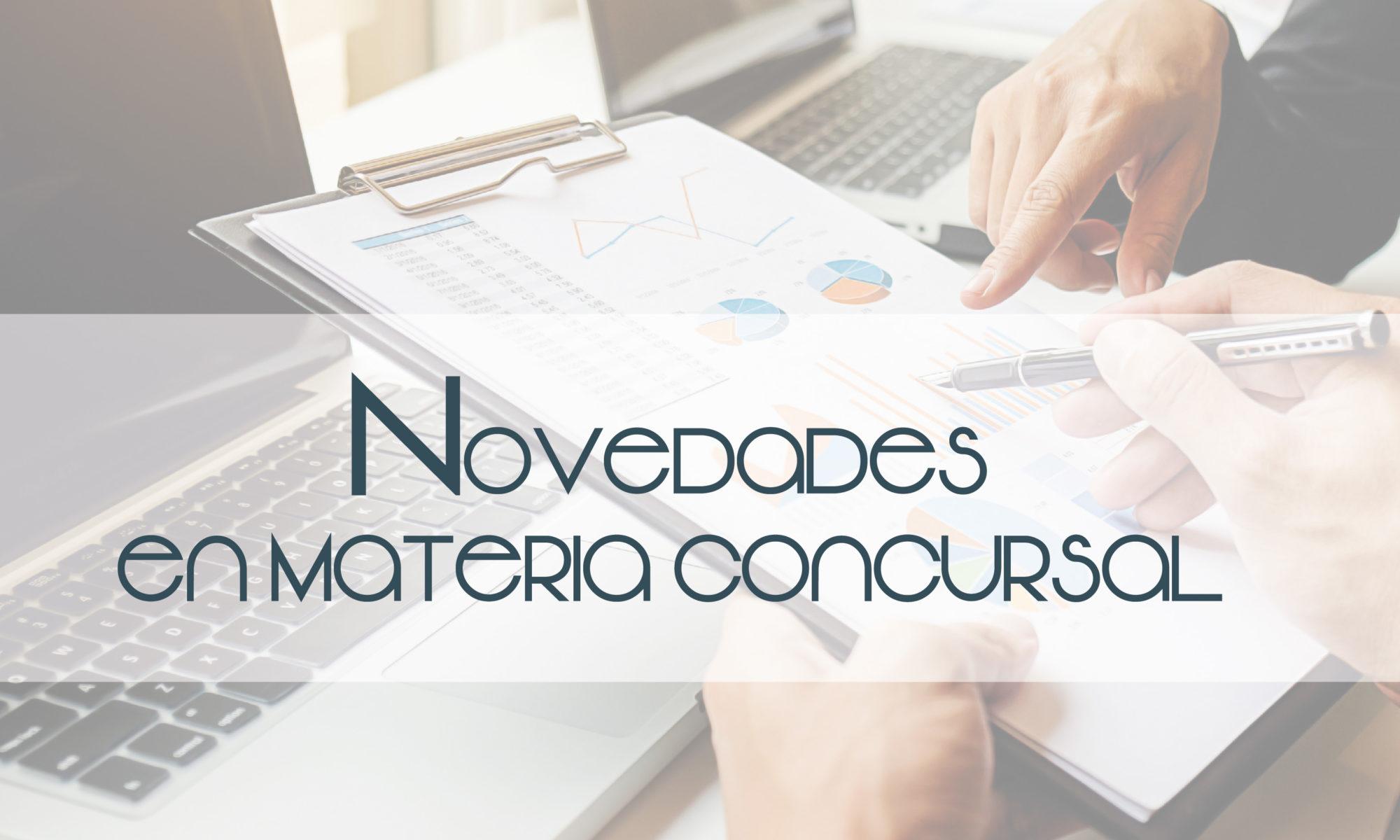 novedades materia concursal blog